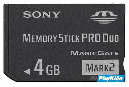 Thẻ nhớ Sony Memory Stick Mark II 4GB