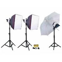 Bộ thiết bị phòng chụp studio Kits F200-3
