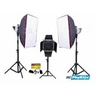 Bộ thiết bị phòng chụp studio Kits F250-1