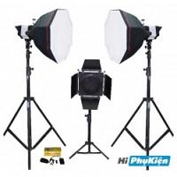 Bộ thiết bị phòng chụp studio Kits K-150A-1