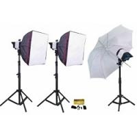 Bộ thiết bị phòng chụp studio Kits K-150A-2