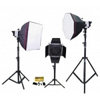 Bộ thiết bị phòng chụp studio Kits K-150A-3