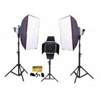 Bộ thiết bị phòng chụp studio Kits K-150A-6