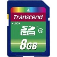 Thẻ nhớ SDHC Transcend 8GB Class 4