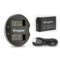 Combo Sạc đôi và Pin Kingma for Canon LP-E17