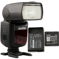Đèn Flash Godox V860II for Nikon (Kèm pin và sạc)