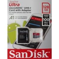 Thẻ nhớ MicroSD SanDisk Ultra 100MB/s 128GB