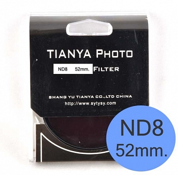 Filter Tianya ND8 52mm