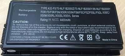 Pin Laptop Asus A32-F5