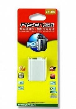 Pin Pisen  LP-E5 - Pin máy ảnh Canon