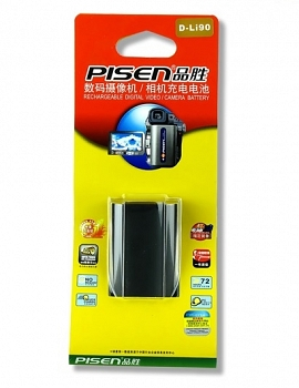 Pin Pisen for Pentax D-Li90