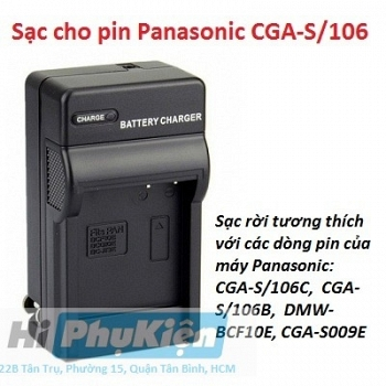 Sạc Panasonic BCF10E for