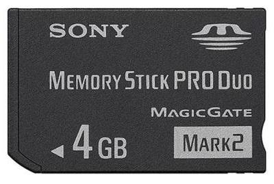 Thẻ nhớ Sony Memory Stick Mark II 4GB