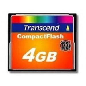 Thẻ nhớ Transcend CF 4GB 133X
