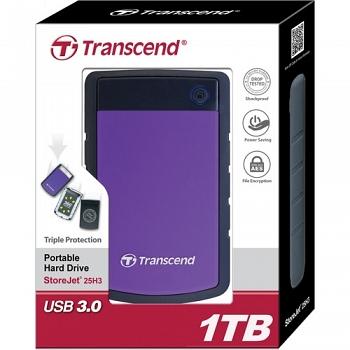 Ổ cứng gắn ngoài Transcend StoreJet 25H3 1TB