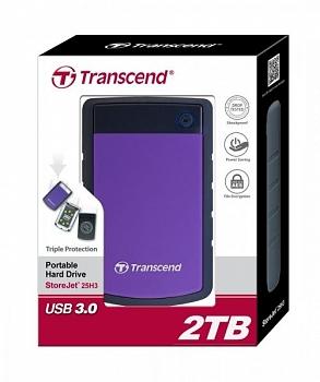 Ổ cứng gắn ngoài Transcend StoreJet 25H3 2TB